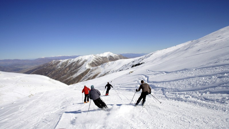 Mt Dobson Skiing