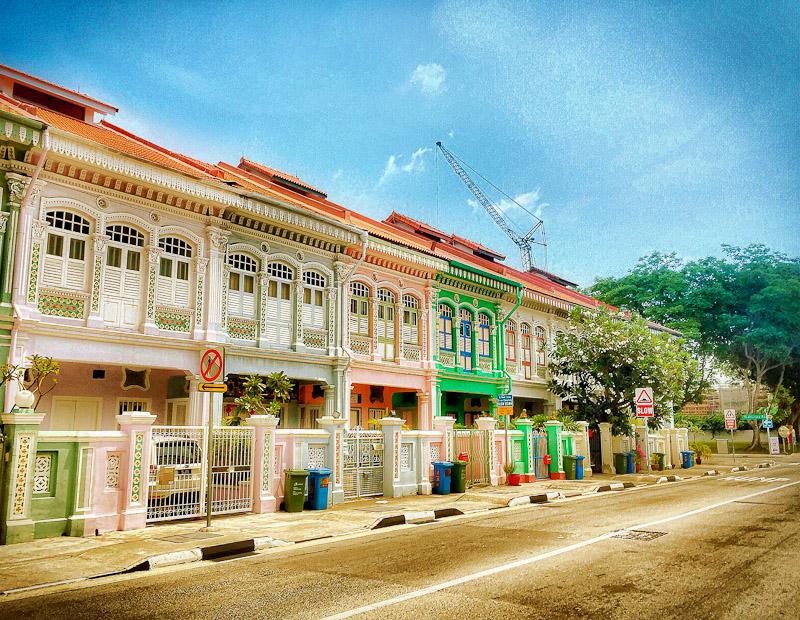 paranakan terrace house katong singapore