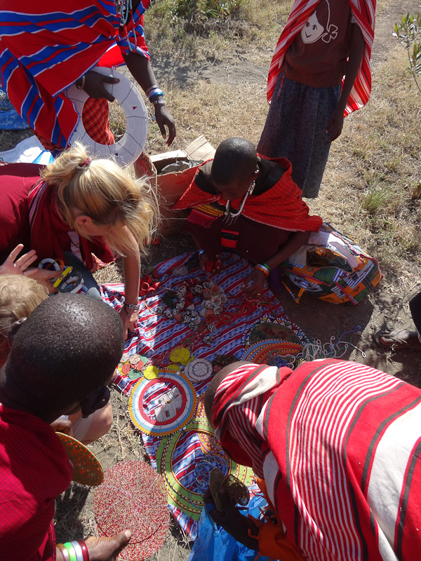 masai bead market