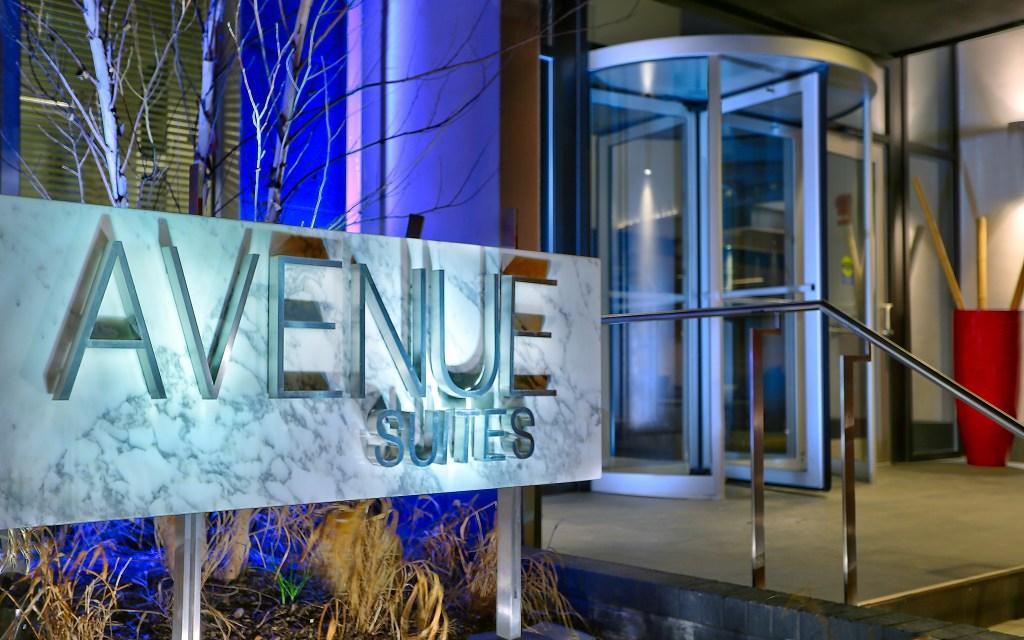 avenue suites washington dc entry