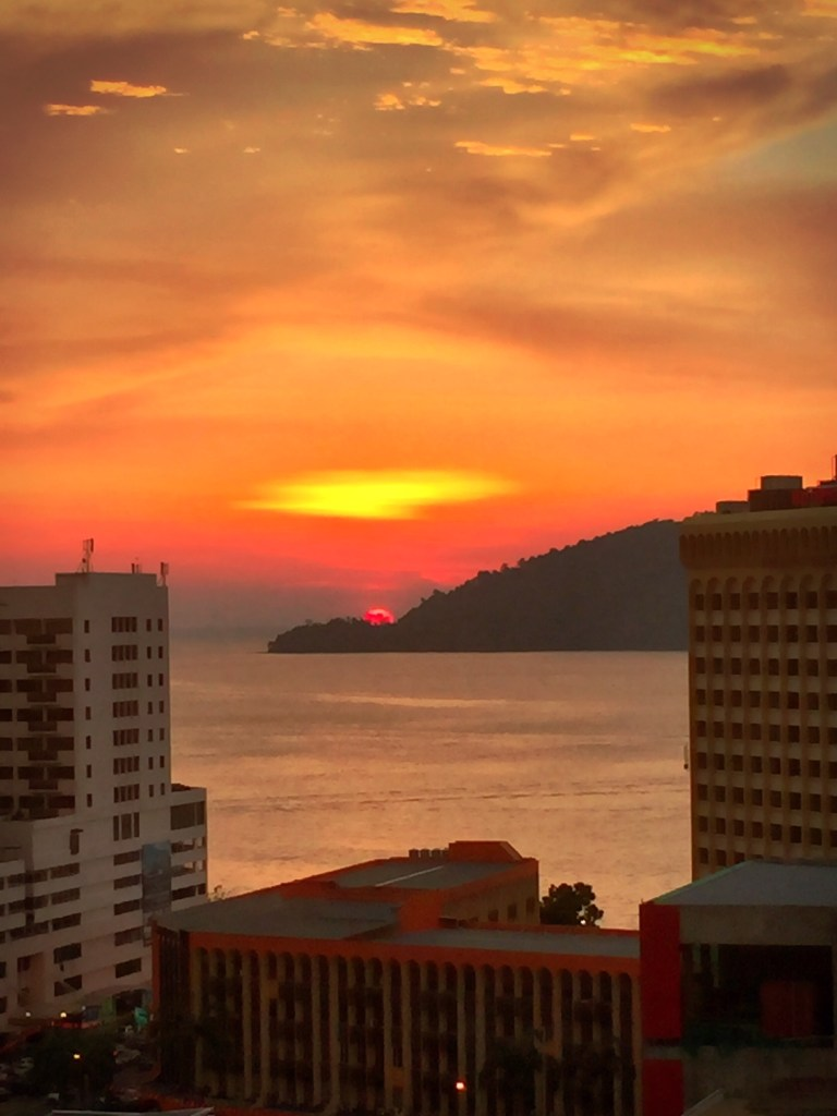 sentinel hill sunset kota kinabalu sabah malaysia