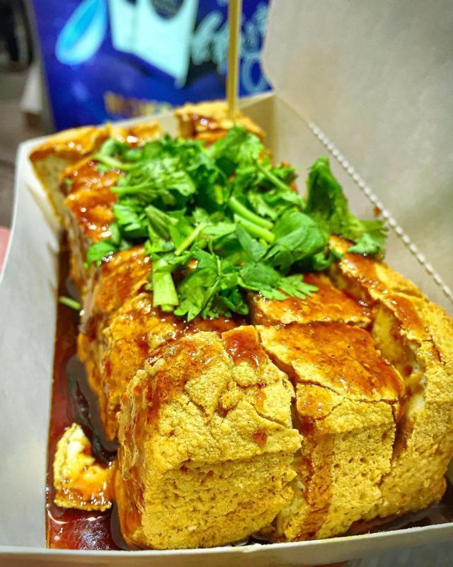 stinky tofu taiwan night market tainan