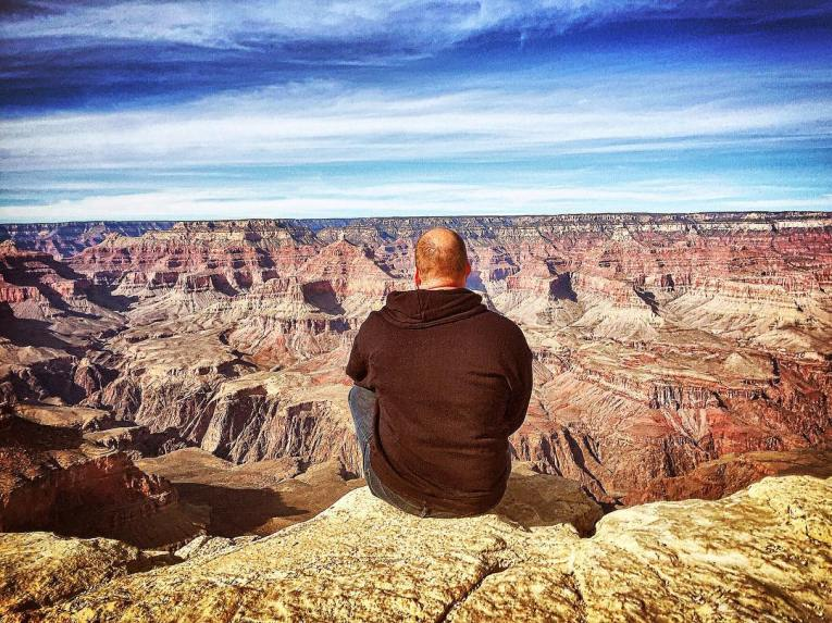 grand canyon february view