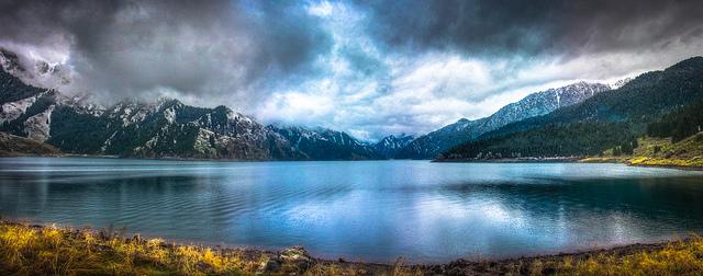tianchi changbaishan heavenly lake