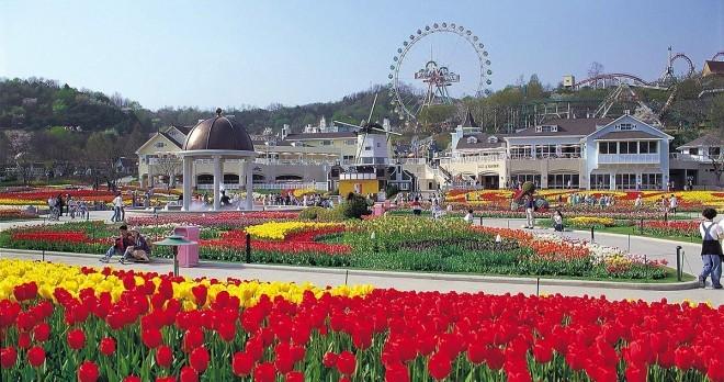 K Everland Amusement Park in Seoul, South Korea