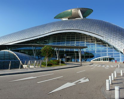 K Incheon Airport in Seoul, South Korea