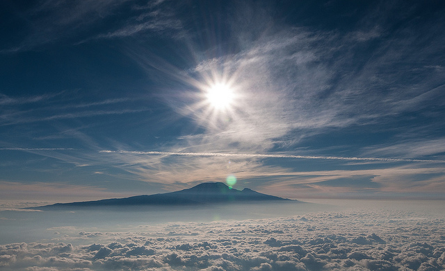 kilimanjaro above the clouds