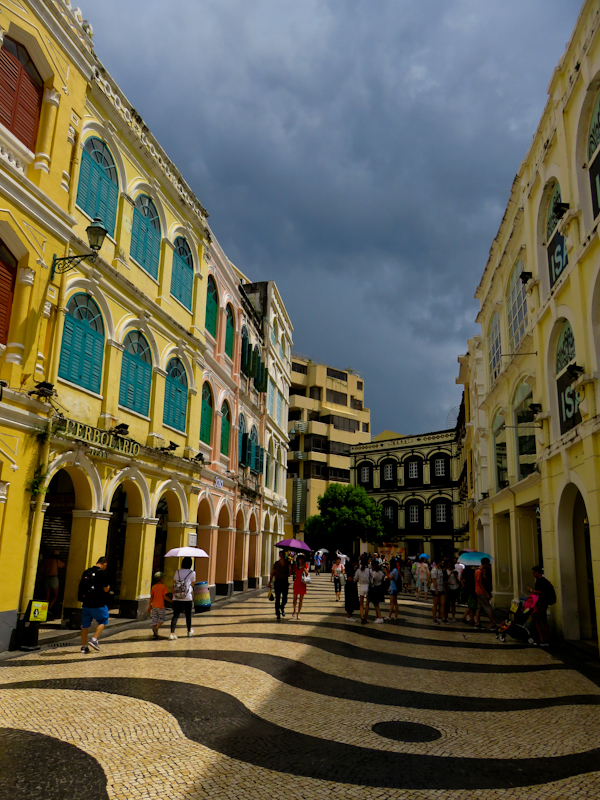 macau one day itinerary senado square