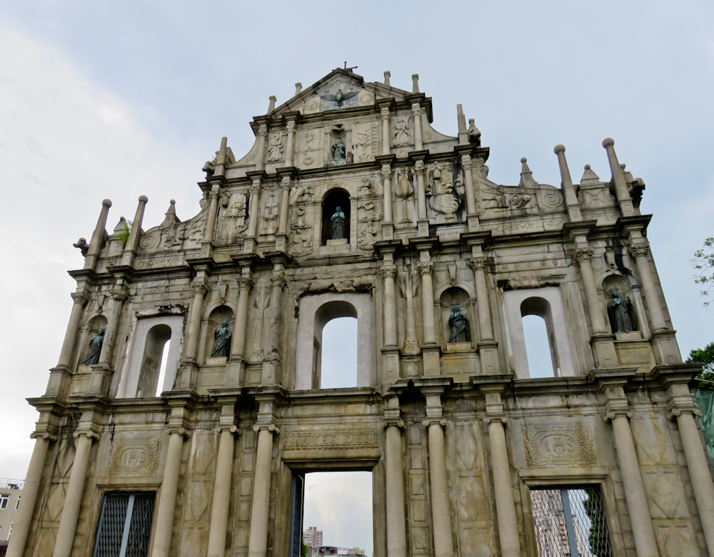 macau one day itinerary ruins st paul