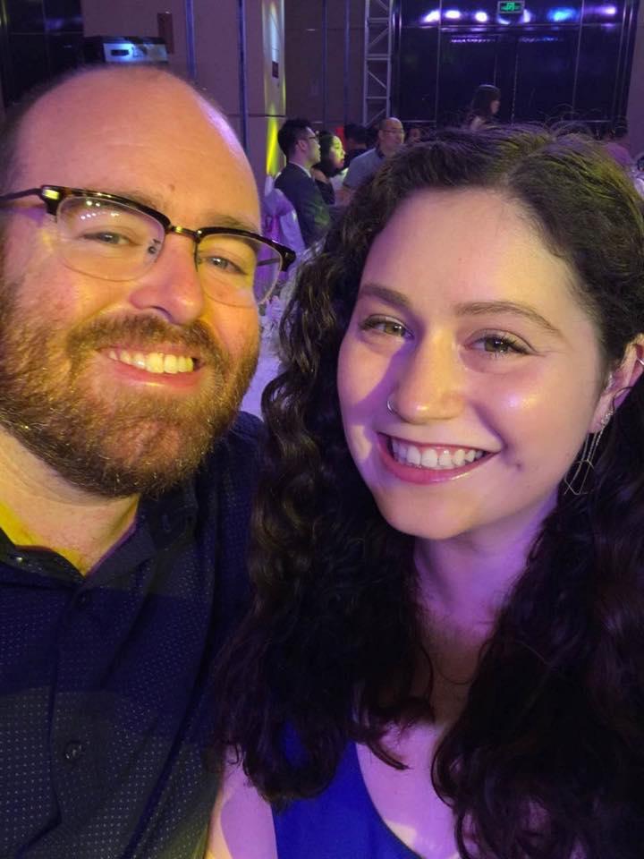 cute couple selfie
