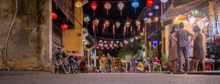 hoi an lanterns old town