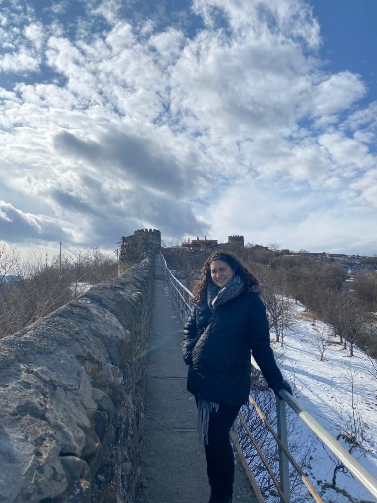 sighnaghi city wall kakheti wine tour