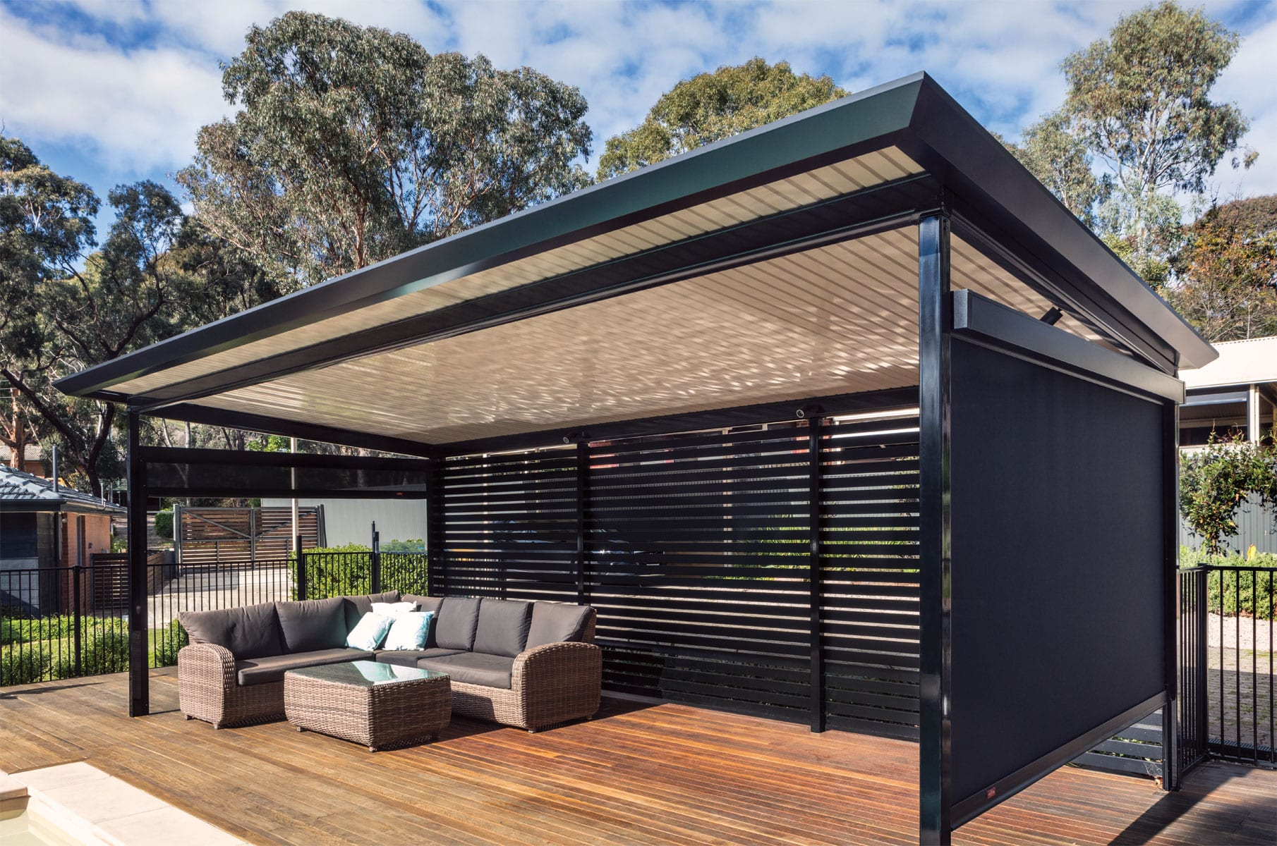 stratco outback flat patios and