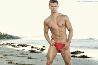 Male Swimsuit Model