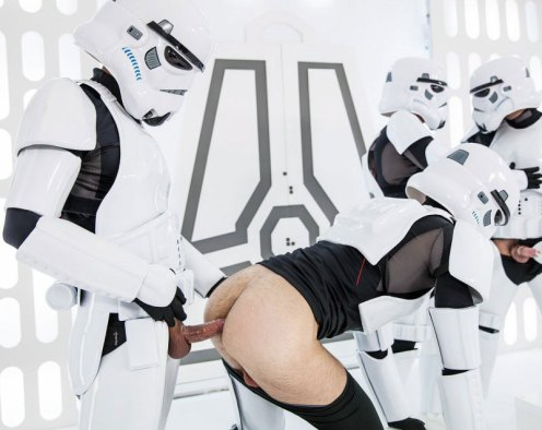 Storm Trooper Orgy