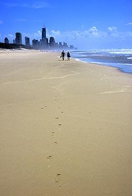 Speedos at the beach.