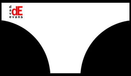 DESwimwear - White Speedos Front