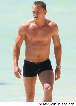 Daniel Craig Speedo