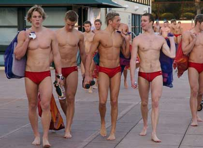 Speedo swim team