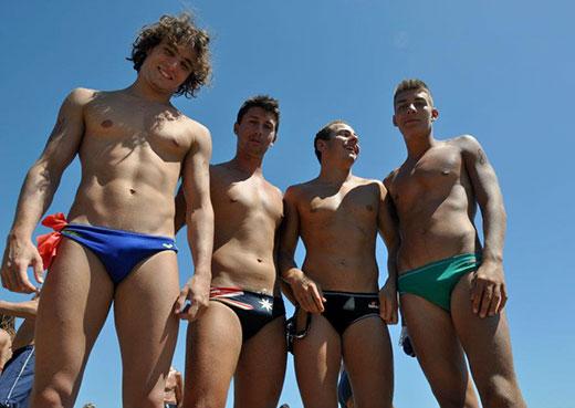 Aussie Boys in Speedos