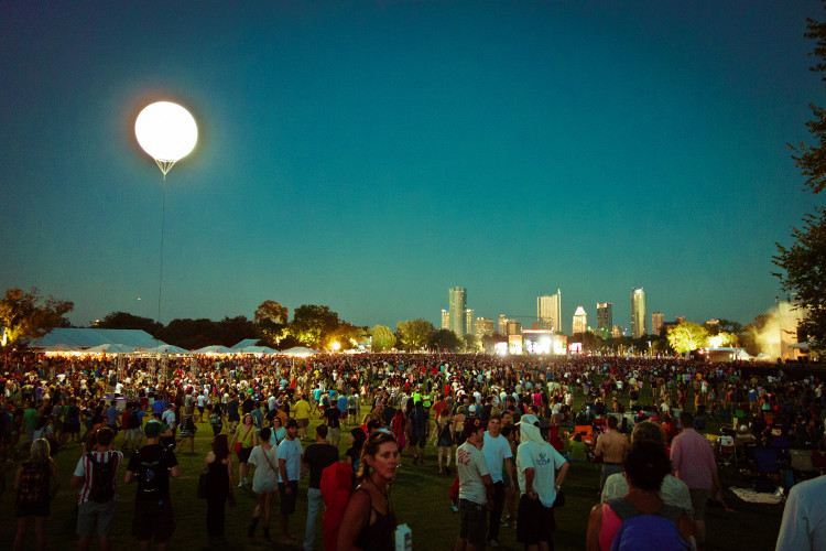The crowd at ACL 2012. Photo: Flickr user Nan Palmero, creative commons licensed.