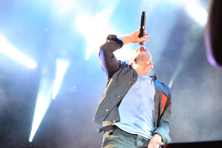 """""""Coldplay"""" performing at ACL 2011. Photo: Flickr user Robert Scoble, creative commons licensed."""