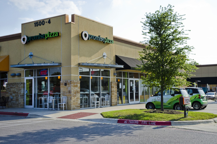 promise pizza round rock healthy organic local ingredients