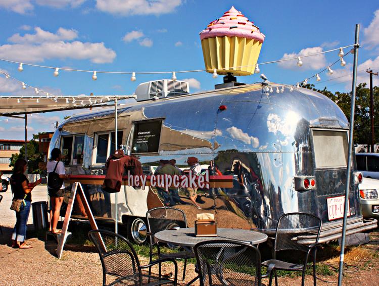 hey cupcake gourdough's donuts bakery baked goods trailer quack's 43rd street