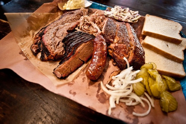 Mmm, BBQ (photo from the Franklin Barbecue website)