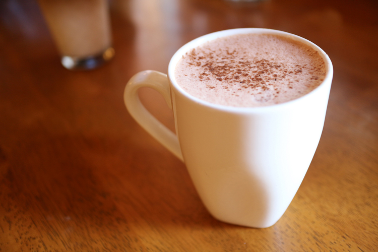 hot chocolate cocoa holy cacao mozart's coffee roasters halcyon caffe medici