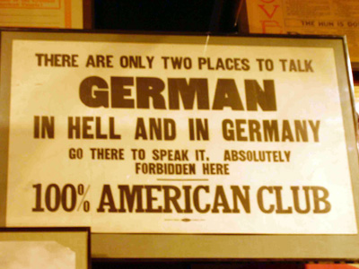 In Hell or in Germany.
