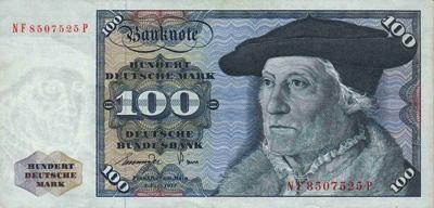 Hundert Deutsche Mark.