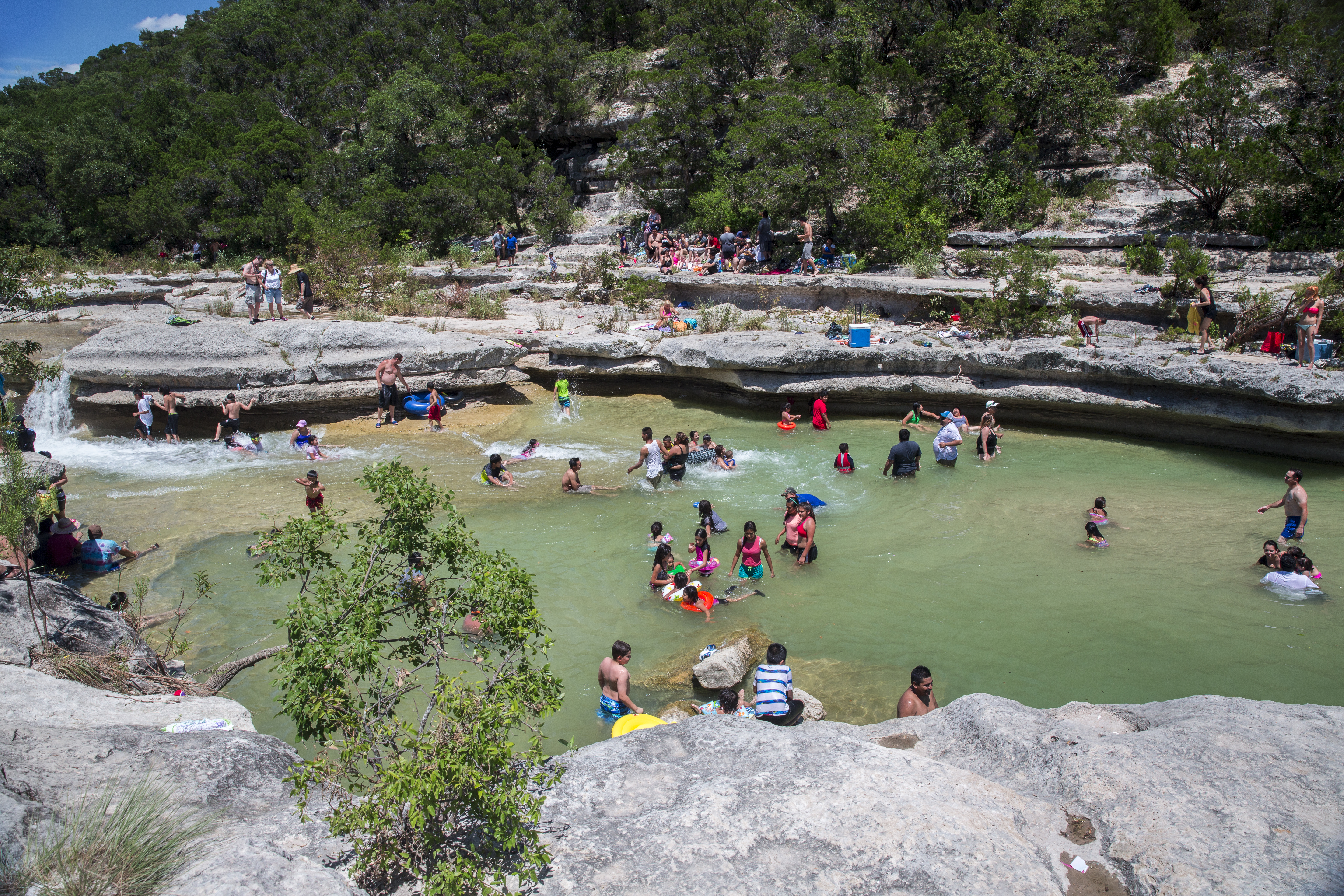 Bull Creek is listed as one of Austin's best swimming holes