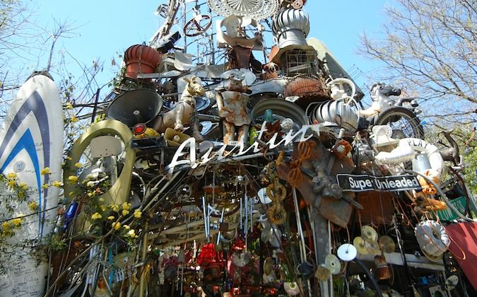 Cathederal of Junk, Austin, Texas.