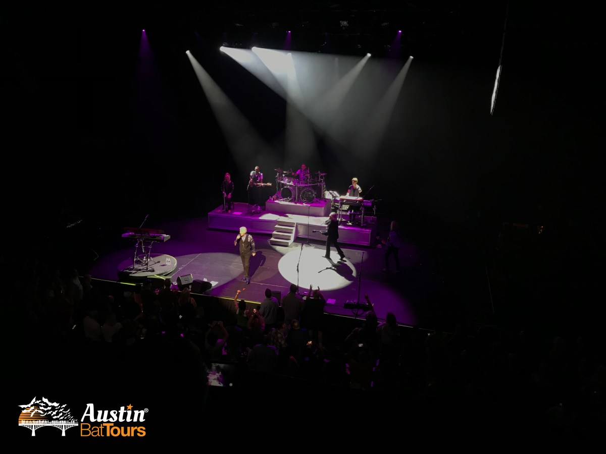 Dennis DeYoung in concert at ACL Live, Austin, Texas.