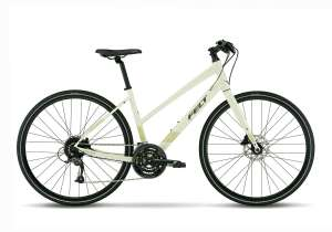 Flet Verza Speed 40 Mis Step Fitness Style Hybrid Bicycle In The Glow Green Colorway