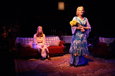 Amanda and Laura in The Glass Menagerie