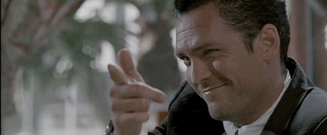 Michael Madsen as Mister Blonde in Reservoir Dogs