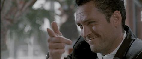 Michael Madsen as Mister Blonde in Reservoir Dogs