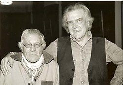 Déjà vu again: Guy Clark and Ramblin' Jack Elliott at the Cactus Cafe, 2004