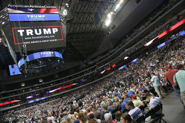 Donald Trump Rally in Dallas - 1 of 22 - Photos - The ...