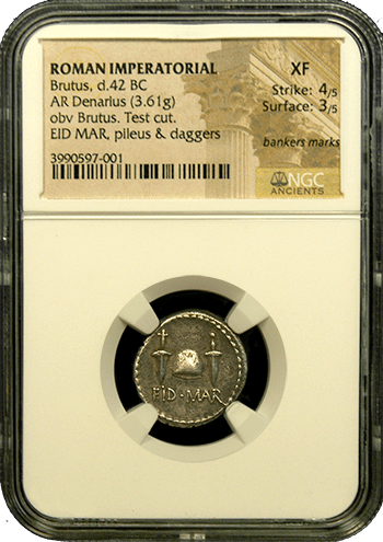 Ides Of March Denarius