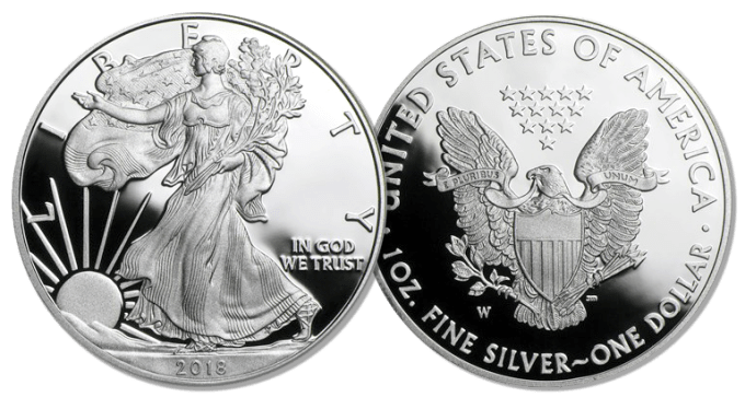 2018 Proof American Silver Eagle
