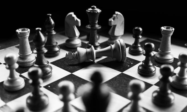 Business can be likened to a chess match between competitors.