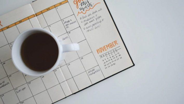 Create a content marketing schedule.