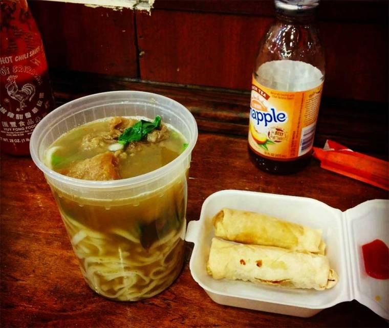 Chinatown dinner