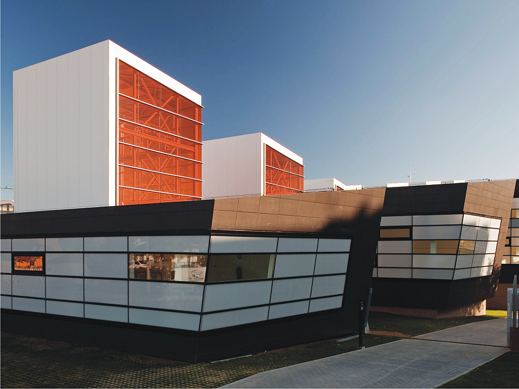 Picture of Building with Slimline Facades Design