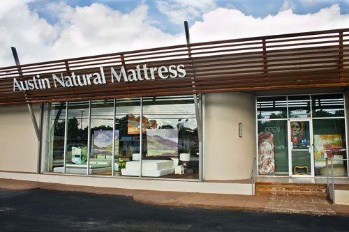 Austin Natural Mattress Central Burnet Anderson Front Photo