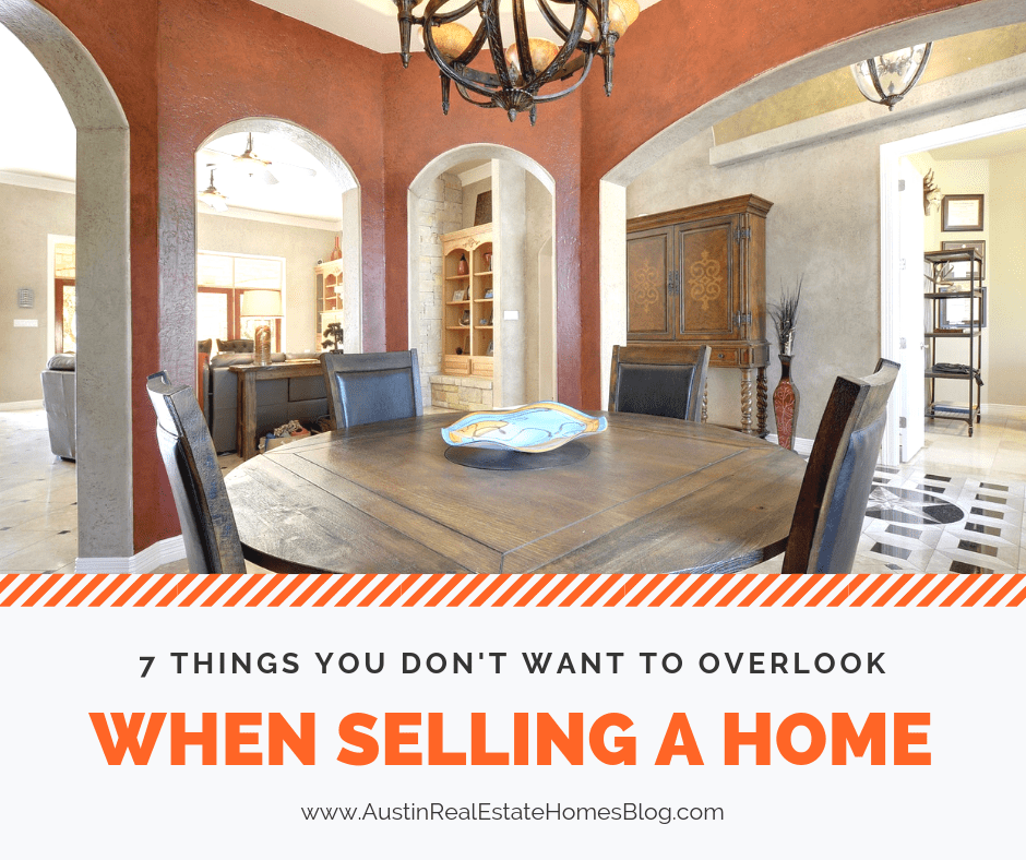 7 things you don't want to overlook when selling