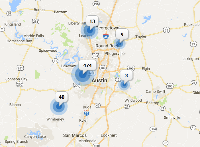 luxury homes for sale in austin area November 2017